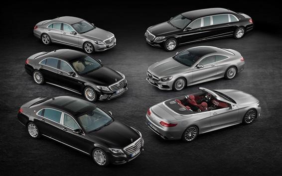 Wallpaper 2015 Mercedes-Benz S-Class cars