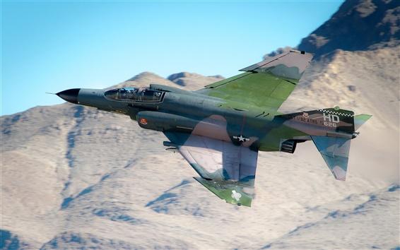 Обои многоцелевой истребитель F-4 Phantom II