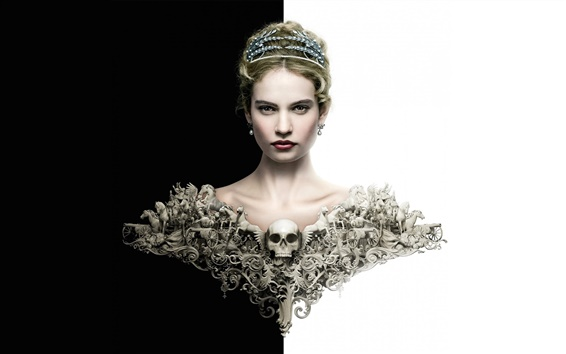 Wallpaper War and Peace, Lily James