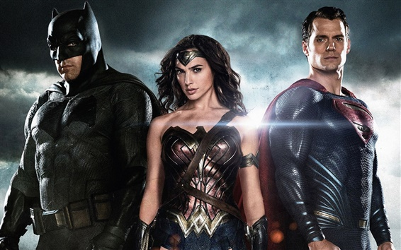 Fondos de pantalla 2016 V Batman Superman: El origen de Justicia