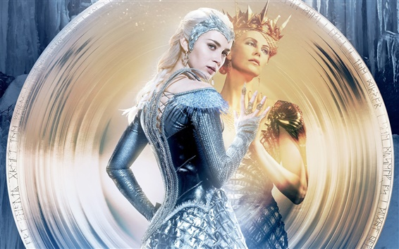 Wallpaper 2016 The Huntsman: Winter's War, Emily Blunt, Charlize Theron