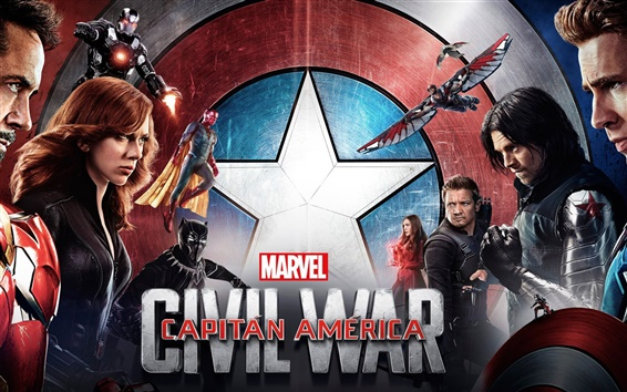 Hintergrundbilder 2016 Film, Captain America: Civil War HD