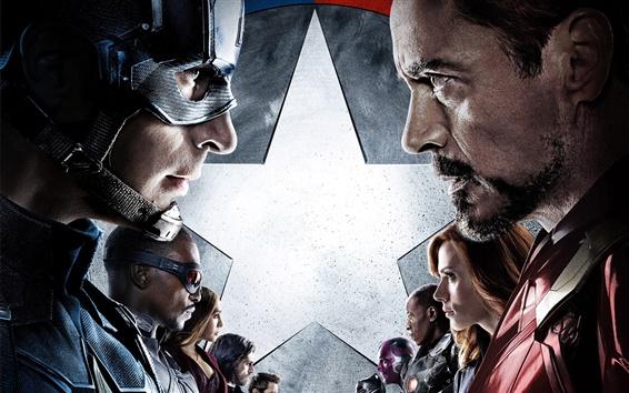 Wallpaper Captain America: Civil War 2016