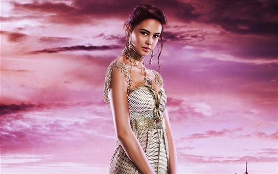 Papéis de Parede Courtney Eaton como Zaya em Deuses do Egito