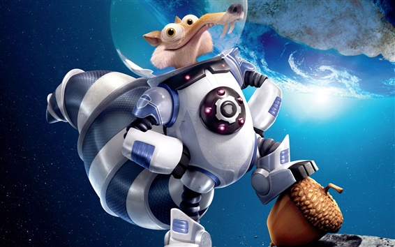 Wallpaper Ice Age 5: Collision Course
