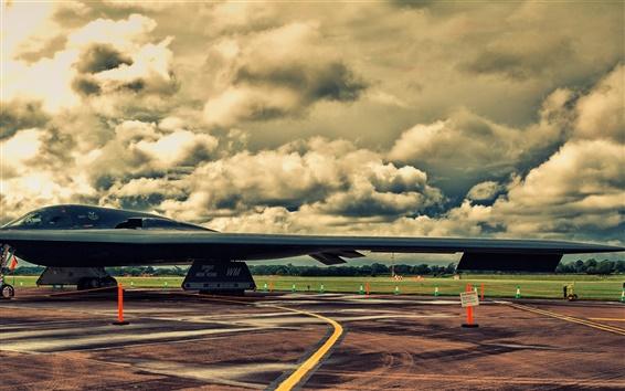 Fondos de pantalla Bombardero Northrop B-2A cautela del alcohol