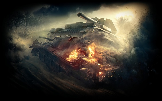 Wallpaper World of Tanks, destroy