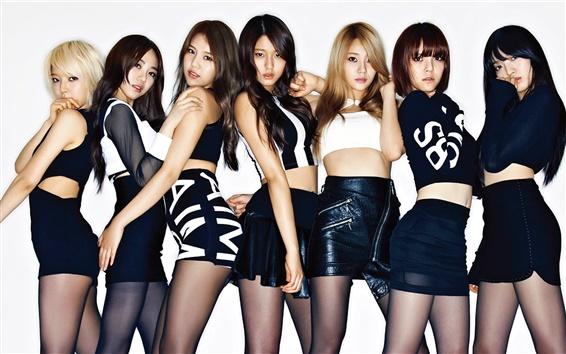 Fondos de pantalla AOA, música coreana niñas 01