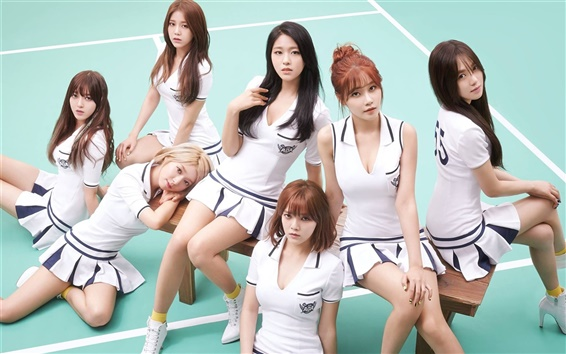 Fondos de pantalla AOA, música coreana niñas 02