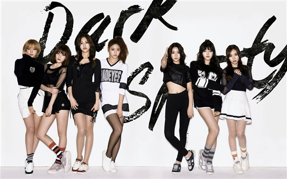 Wallpaper AOA, Korean music girls 04