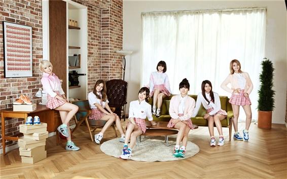 Fondos de pantalla AOA, música coreana niñas 05