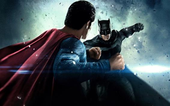 Fondos de pantalla Batman v Superman: El origen de Justicia, con pantalla grande
