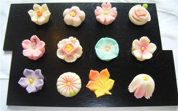 Wallpaper Food culture of Japan, Japanese confectionery
