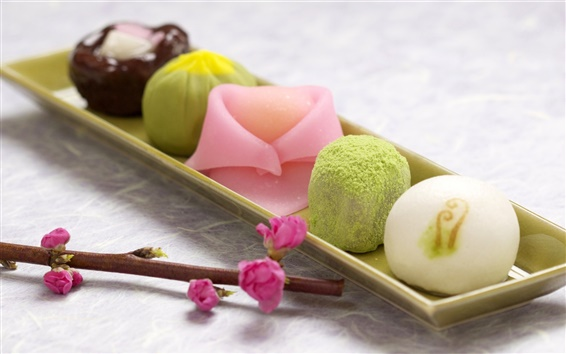 Wallpaper Japan snacks, Japanese confectionery