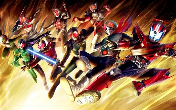 Wallpaper Kamen Rider, Japanese game