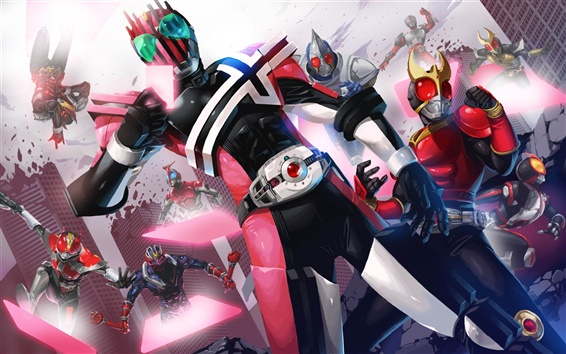 Wallpaper Kamen Rider game