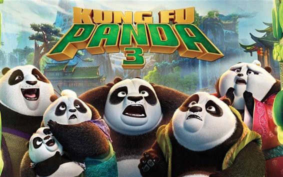 Fondos de pantalla Kung Fu Panda 3, película de 2016