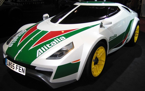 Wallpaper Lancia Stratos HF supercar