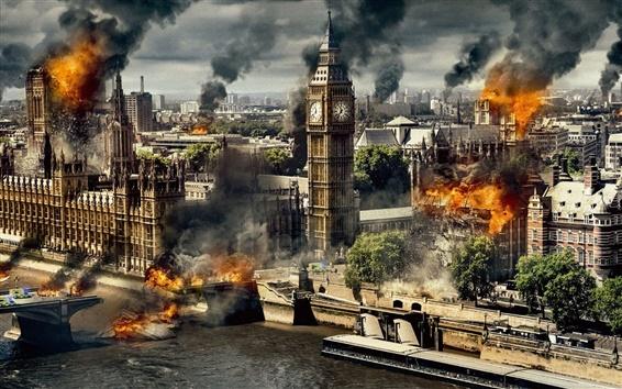 Обои Падение Лондона, в 2016 году фильм