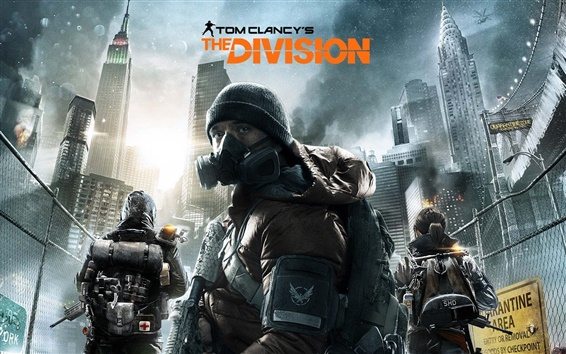 Wallpaper PC game, Tom Clancy's, The Division