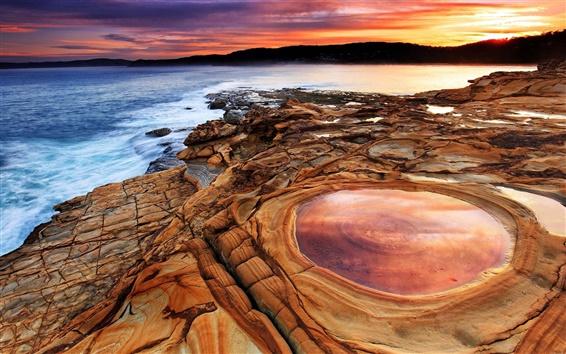 Wallpaper Putty Beach, New South Wales, Australia