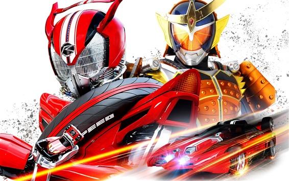 Wallpaper The Kamen Rider Series, Japanese cartoon movie