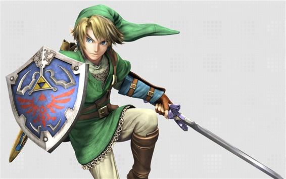 Fondos de pantalla La leyenda de Zelda, juego japonés