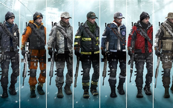 Wallpaper Tom Clancy's The Division, Xbox game