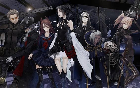 Fond d'écran Anime images, redjuice, filles et garçons