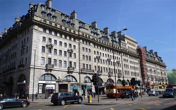 Wallpaper Baker Street, London, England
