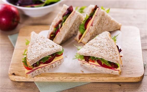 Wallpaper Delicious sandwich