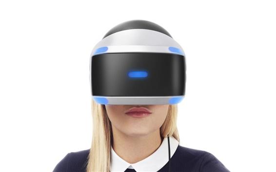 Fond d'écran Fille utiliser Sony Playstation VR