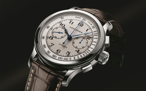 Wallpaper Longines Lindbergh watch