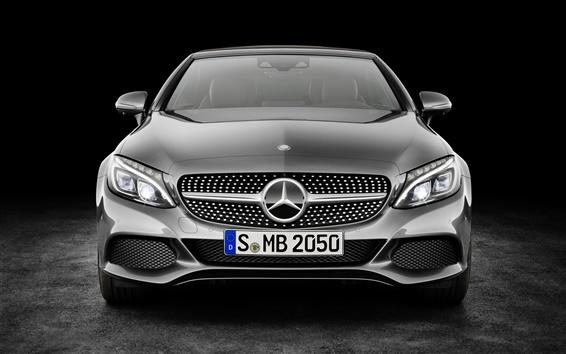 Обои вид спереди A205 Mercedes-Benz C-Class Cabriolet AMG