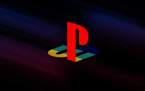 Обои Playstation логотип