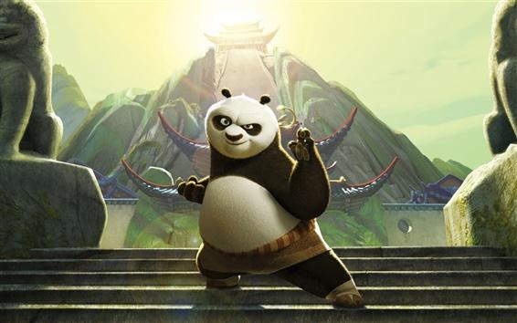 Fond d'écran Po dans Kung Fu Panda 3
