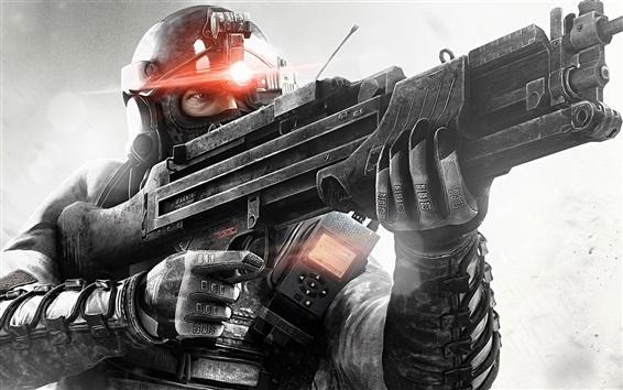 Fondos de pantalla Splinter Cell: lista negra, armas, soldado