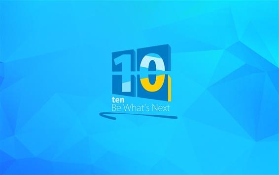 Обои Windows 10 логотип, творческий фон