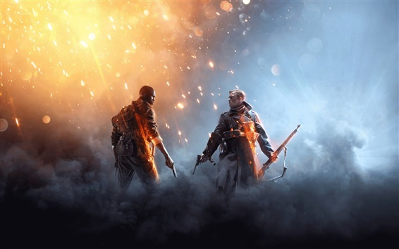 Wallpaper Xbox game 2016, Battlefield 1