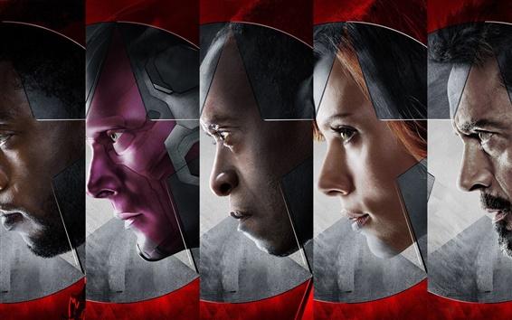 Fondos de pantalla 2016 Capitán América: guerra civil, superhéroes