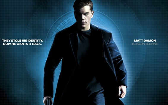 Обои 2016 Jason Bourne HD