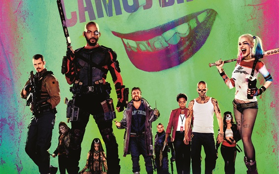 Wallpaper 2016 movie, Suicide Squad