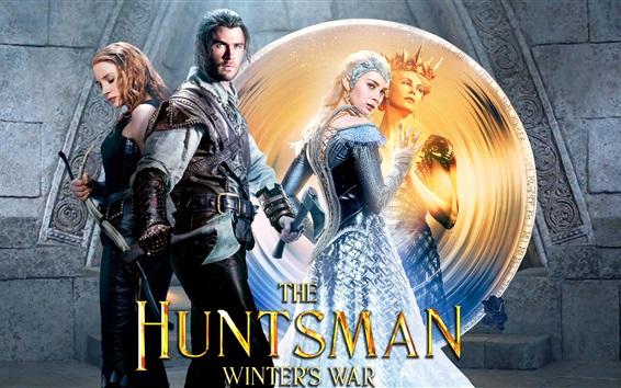 Fondos de pantalla 2016 película, The Huntsman: Guerra de Invierno