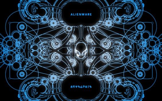 Wallpaper Alienware creative design