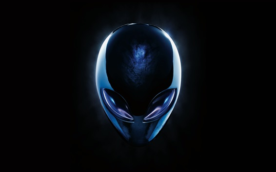 Wallpaper Alienware logo