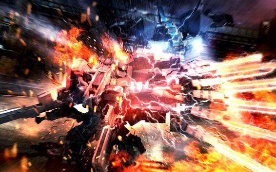 Fondos de pantalla Armored Core 5 juego de PS