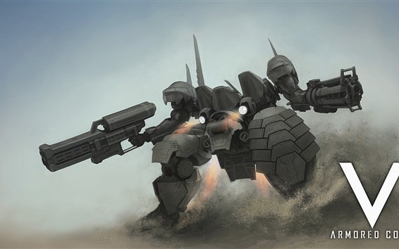 Fond d'écran Armored Core V