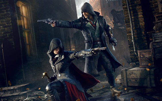 Wallpaper Assassin's Creed: Syndicate, killer together