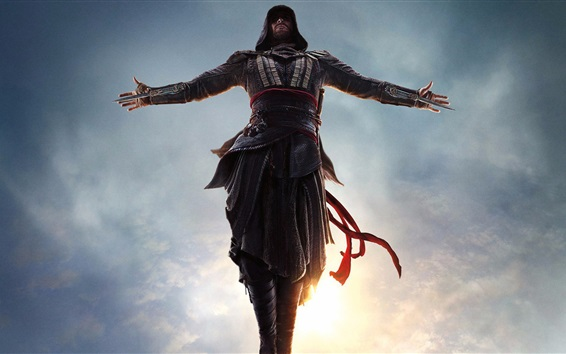 Wallpaper Assassin's Creed, jump