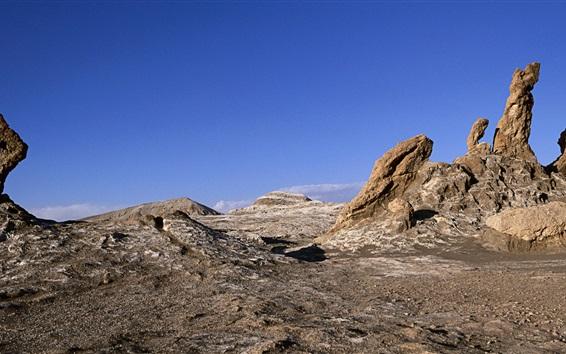 Papéis de Parede Deserto de Atacama, Chile, rochas